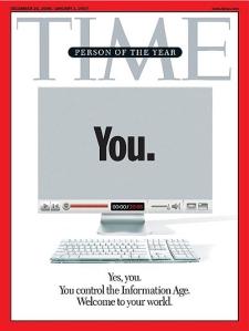 Time Magazine :   Personne de l'année (17/12/2006)