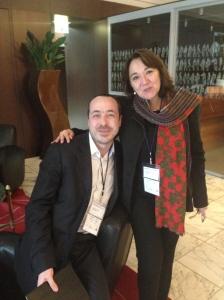 Anthony Poncier et Marie-Pierre Fleury