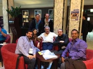 Ana Silva,Luis Suarez, Claude Super, Jon Husband, Frédéric Williquet, Anthony Poncier & Rawn Shah