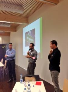 Le débat avec Antoine Perdaens et Gilles Ruffieux