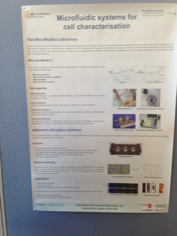 ucl microfluid system for cell characterization