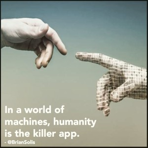 Humanity is the killer app